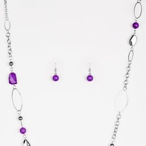 Jewelry - Popular Demand - Purple Necklace Set